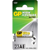 Αλκαλική μπαταρία GP High Voltage 23AE, A23, V23GA, MN21, 6LR23, K23A