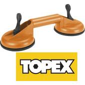 TOPEX 14A780 Διπλή πλαστική βεντούζα 80 κιλών