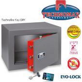 Technomax Χρηματοκιβώτιο πυρασφαλείας DPK, με κλειδί