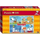 Noris Παζλ 500 Peanuts Snoopy (606031304)