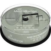 MediaRange AUDIO CD-R 52x 80min Cake 25- MediaRange - MR223