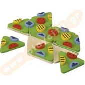 Εκπαιδευτικό Παιχνίδι Ντόμινο Τριγωνικό Plan Toys 4120