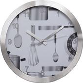 HAMA AG-300 Kitchen Wall Clock, silent - (00136210)