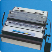 Ηλεκτρική μηχανή βιβλιοδεσίας μεταλλικού σπιράλ 2:1 & 3:1