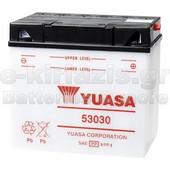 Μπαταρία μοτοσυκλετών YUASA Yumicron 53030 (ΜΕ ΥΓΡΑ) 12V 30 (20HR) - 180 CCA (EN) εκκίνησης