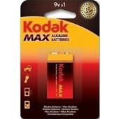 KODAK BATTERY E-BLOCK PHOTOLIFE MAX ALKALINE 1 PACK BATTERY 9V 6LR61 K9V-1 ΜΠΑΤΑΡΙΑ ΑΛΚΑΛΙΚΗ