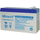 Επαναφορτιζόμενη Μπαταρία Μολύβδου Ultracell 12V 7Ah