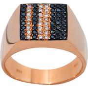 Δαχτυλίδι Κ18 με Διαμάντια, 019344