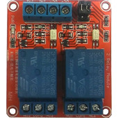 2-Channel Relay Board, Opto Isolated, High/Low Trigger