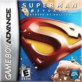 Superman Returns Fortress of Solitude Gameboy