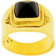 Χρυσό δαχτυλίδι χειροποίητο Κ18