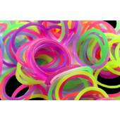 Πολύχρωμα λαστιχάκια Rainbow Loom Bands για βραχιόλια