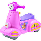 Fisher Price Laugh & Learn Scooter Smart Stages Ροζ
