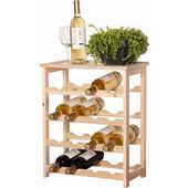 Κάβα Ξύλινη για κρασιά 16 θέσεων, Wine Rack 31821 - Wine Rack - 00007845