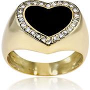 Δαχτυλίδι Κ14 με Ζιργκόν, 018021