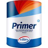 Vitex Αστάρι Primer Ακρυλικό 100% Νερού 3L