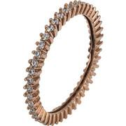 Σειρέ δαχτυλίδι ροζ χρυσό Κ14 021875 021875 Χρυσός 14 Καράτια
