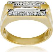 Δαχτυλίδι Κ14 με Ζιργκόν, 003040