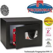 Technomax FPP Χρηματοκιβώτιο επιδαπέδιο, με δακτυλικό αποτύπωμα