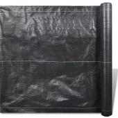 vidaXL Πλαστική λινάτσα (PP) Προστασία από αγριόχορτα 100 x 2m gsm