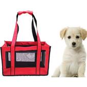 Υφασμάτινη Τσάντα Μεταφοράς Κατοικιδίων Και Μικροσωμα Σκυλια 40X15X22cm - OEM - 001.4606