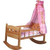 Santa Κρεβάτι για κούκλες κουνιστό