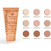 Coverderm Perfect Face Αδιάβροχο Make Up No 9