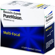 Bausch & Lomb Purevision Multifocal 6Pack Μηνιαίοι