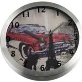Ρολόι τοίχου 30 x 30 x 4 εκατ. Aluminium ESPIEL