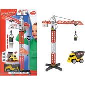 Dickie Σετ Γερανός 67cm Φορτηγό Building Team 203463337
