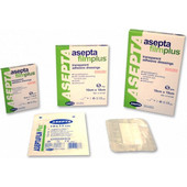 Asepta Filmplus, Διαφανή Αυτοκόλλητα Επιθέματα 5cm x 7, 5cm 5τμχ