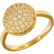 Δαχτυλίδι Vogue Ballroom χρυσό ασημί 925 με ζιργκόν 566111.1
