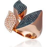 Δαχτυλίδι Κ18 με Διαμάντια, 021896