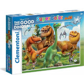 Clementoni Παζλ 24τεμ Maxi Super Color Disney Ο καλόσαυρος 1200-24035