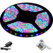 RGB Colour LED Ταινία σε Διάφορα Χρώματα με Τηλεχειριστήριο 5μέτρα (ΟΕΜ)