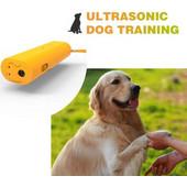 Ηλεκτρονικός απωθητής σκύλων με υπέρηχους και φακό - ΠΡΟΣΤΑΣΙΑ ΑΠΟ ΣΚΥΛΟΥΣ - Συσκευή Εκπαίδευσης Σκύλων - Διαθέτει φακό ανάγκης LED