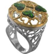 Δαχτυλίδι από ασήμι με με πέτρες Swarovski
