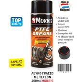 Morris PTFE grease Σπρέυ λευκού γράσσου με ΤΕΦΛΟΝ 400ml