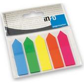 Σελιδοδείκτες Info Χρωματιστοί Τόξο 2682-09