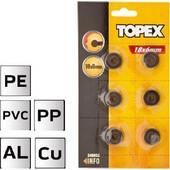 ΡΑΟΥΛΟ ΚΟΠΗΣ 6 τεμ 18x3mm TOPEX - 340528