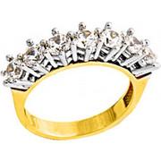 Χρυσό δαχτυλίδι σειρέ Κ14