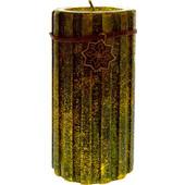 Κερί Χριστουγεννιάτικο σε χρυσό - πράσινο χρώμα