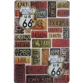 Διακοσμητική Μεταλλική Πινακίδα (20Χ30cm) Route 66
