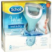 Dr. Scholl Velvet Smooth Wet & Dry - Ηλεκτρική Επαναφορτιζόμενη & Αδιάβροχη Λίμα Ποδιών (1 Λίμα)
