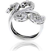 Δαχτυλίδι Κ18 με Διαμάντι, 001267