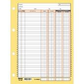 Καρτέλες Χρεωπιστωτών 4 / Στηλες 22 Χ 27cm Υπόδειγμα 3 - 203