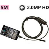 Ενδοσκοπική κάμερα 8mm HD 1280x720 USB με 5 μέτρα καλώδιο για Android/Windows - CST EHD-05