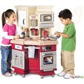 Παιδική Κουζίνα Super Chef κόκκινη Little Tikes 484377