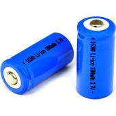 Επαναφορτιζόμενη, μπαταρία 1800mAh ART 16340, 3.7v Battery OEM 1800