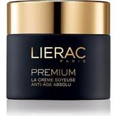 Lierac Premium La Creme Soyeuse, Μεταξένια Κρέμα Απόλυτης Αντιγήρανσης 50ml(TEXTURE LEGERE)